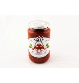 Sauce pour pâtes avec tomates cerise et ail rôti