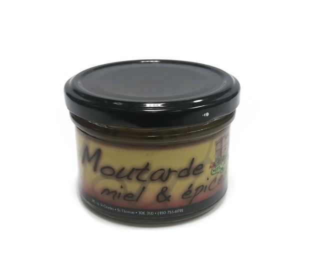 Moutarde miel et épices