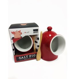 Main de sel rouge