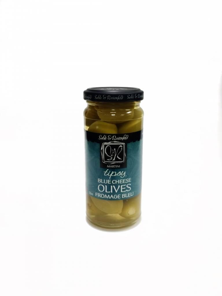 Olives farcies au fromage bleu