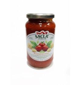 Sauce parmigiana, tomates cerise et parmigiano-reggiano
