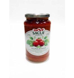 Sauce napolitaine, tomates cerise et basilic
