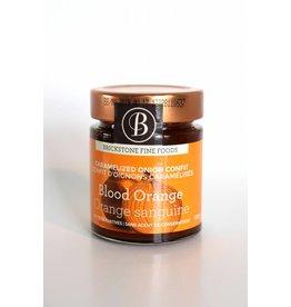 Confit d'oignons caramélisés et orange sanguine