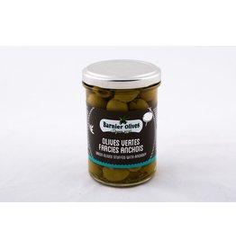 Olives vertes farcies anchois 115g