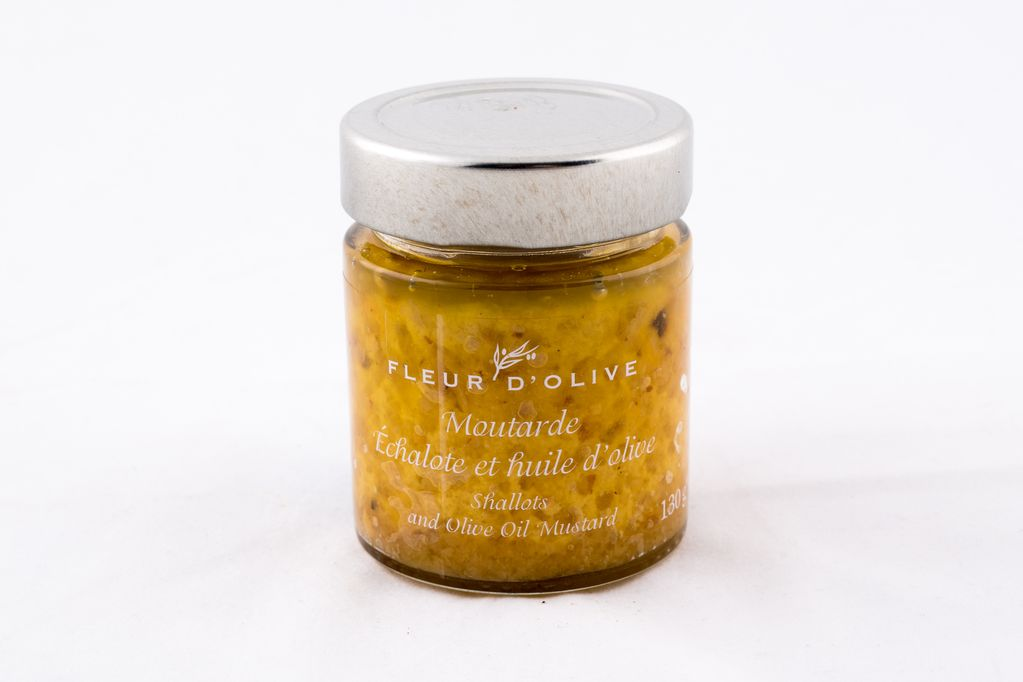 Moutarde échalote et huile d'olive