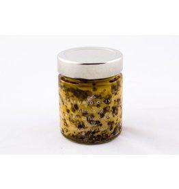 Moutarde truffes poivre et huile d'olive