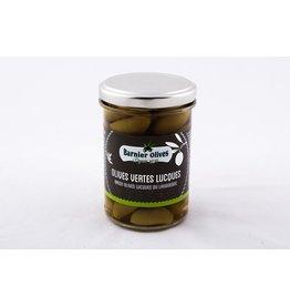 Olives vertes lucques du languedoc 115g