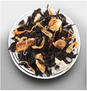 Thé noir caramel nougat