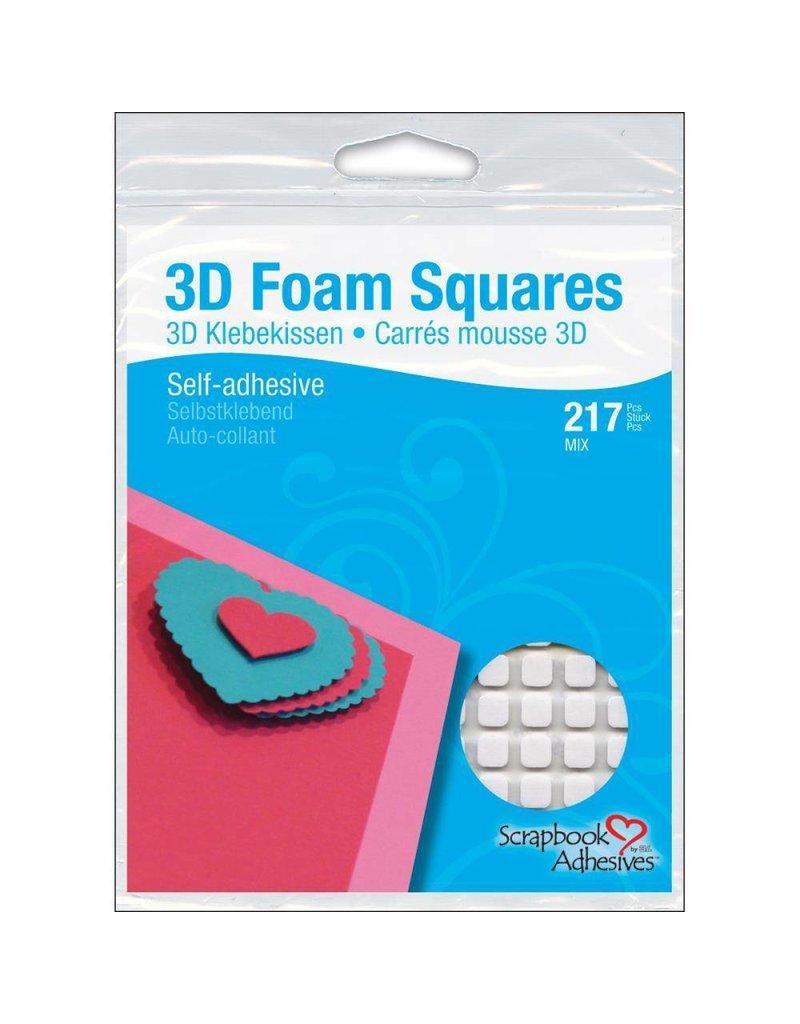 3L 3l mix white foam squares