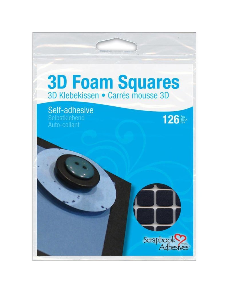 3L 3l large black foam squares