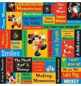 Sandy Lion SLN 12x12 mickey phrase paper