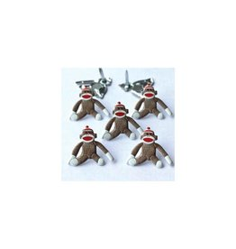 Eyelet Outlet EO brads sock monkey