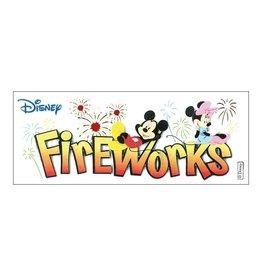 EK Success disney sticker fireworks long