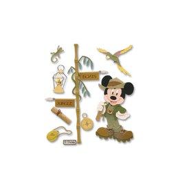 EK Success Disney sticker jungle Mickey