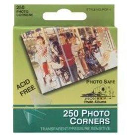 Pioneer P clear photo corners