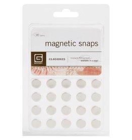 Basic Grey BG small magnetic snaps