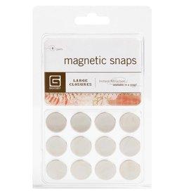 Basic Grey BG large magnetic snaps