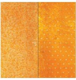 Bo Bunny 12BB vintage dot orange citrus