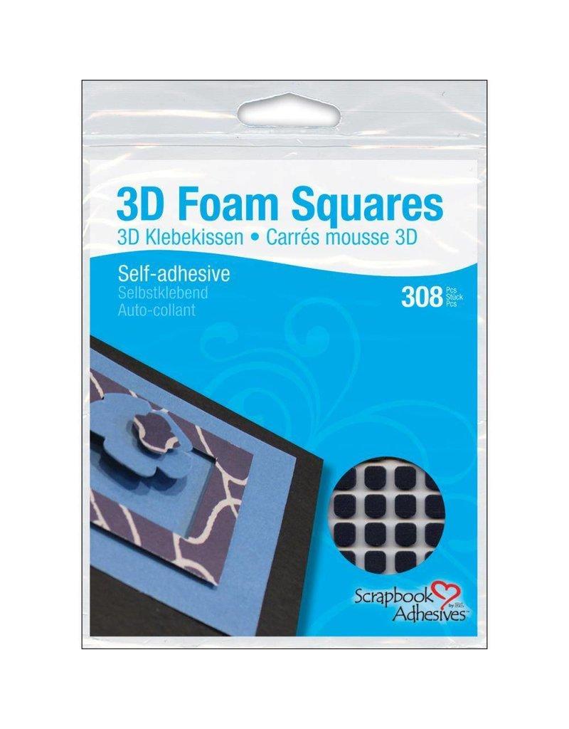 3L 3l small black foam squares