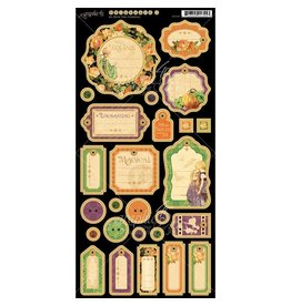 Graphic 45 G45 Eerie tale chipboard 1