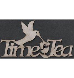 FabScraps FS chipboard time for tea