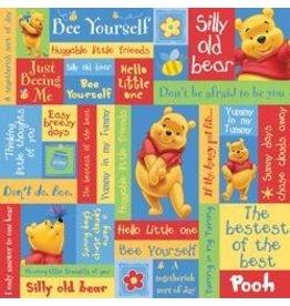 Sandy Lion 12SL Pooh phrases