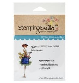 Stamping Bella SB stamp tiffany loves to text