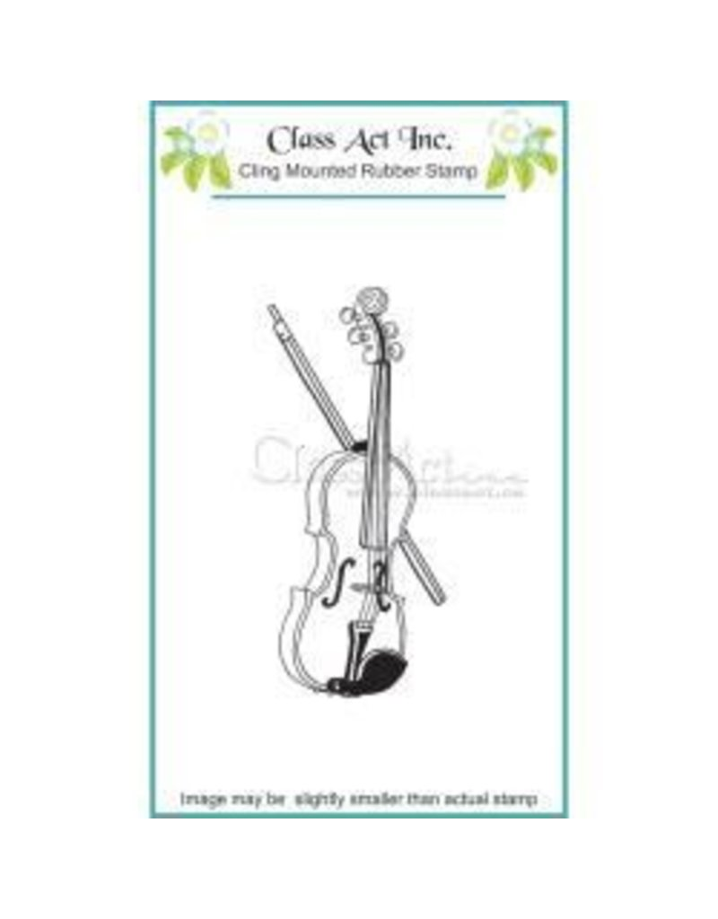 Class Act INc CA stamp violin