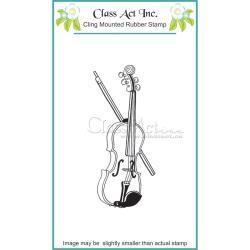 Class Act INc CA stamp violin