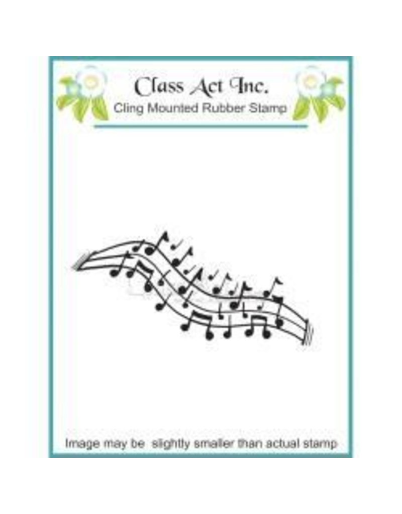 Class Act INc CA stamp music notes 2