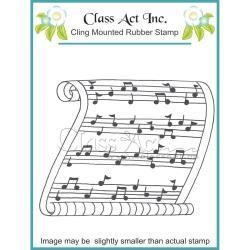 Class Act INc CA stamp scroll of notes