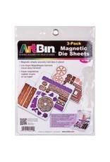 Art Bin Art BIn 3 pk magnetic sheet