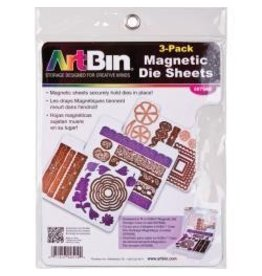 Art Bin Art BIn 3 pk magnetic sheet