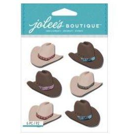 EK Success Ek sticker cowboy hats