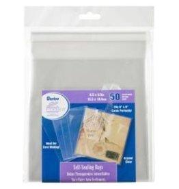 Darice Darice 6.5x6.5 self sealing bags 50 pk