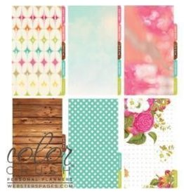 Webster`s WP personal planner dividers love with life