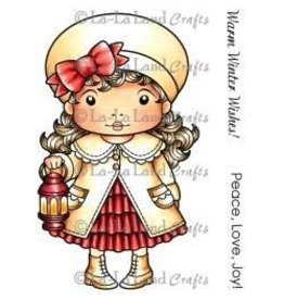 LaLa stamps LALA lantern Marci