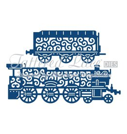 Tattered Lace TL die steamtrain