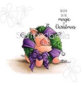 Stamping Bella Sb stamp Petunia loves Christmas