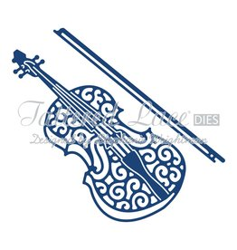 Tattered Lace TL violin die