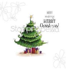 Stamping Bella SB stamp uptown Christmas tree