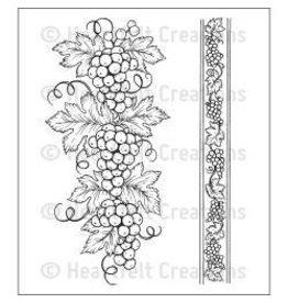 Heartfelt Creation Italiana grape borders
