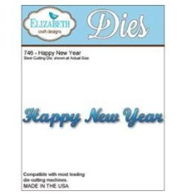 Elizabeth Carft Designs ECD die happy new year