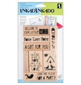 Inkadinkadoo INK stamp new home
