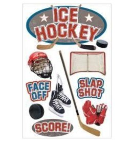 Paper House PH hockey 3D sticker