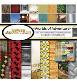 Reminisce RM 12x12 world of adventure pack