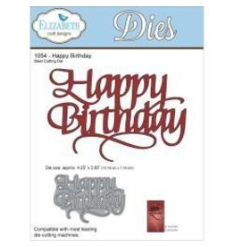 Elizabeth Carft Designs ECD die Happy birthday