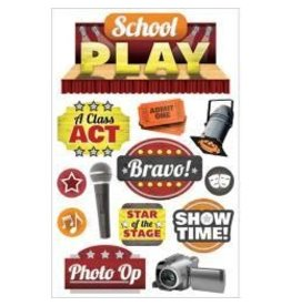 Paper House PH 3D stickers school play