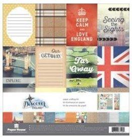 Paper House PH 12x12 discover England