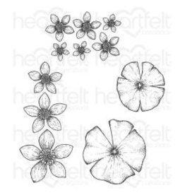 Heartfelt Creation HC stamp water lily